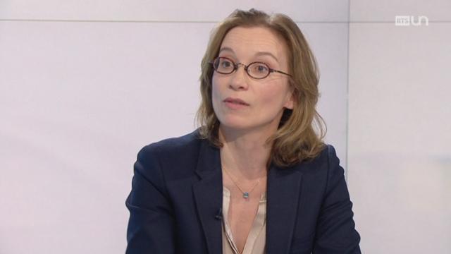 Mathilde Lemoine. [RTS]