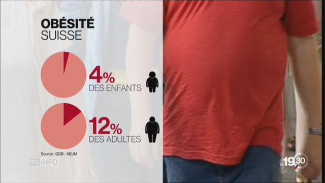 Selon une étude mondiale, l'obésité a doublé en une génération [RTS]