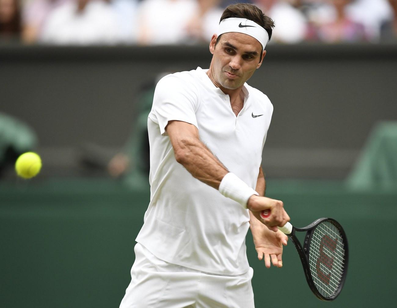 Wimbledon Federer: