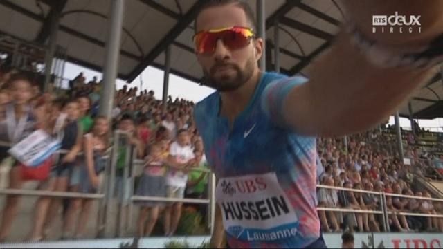 400m haies: Kariem Hussein s'impose et signe sa meilleure performance de la saison [RTS]