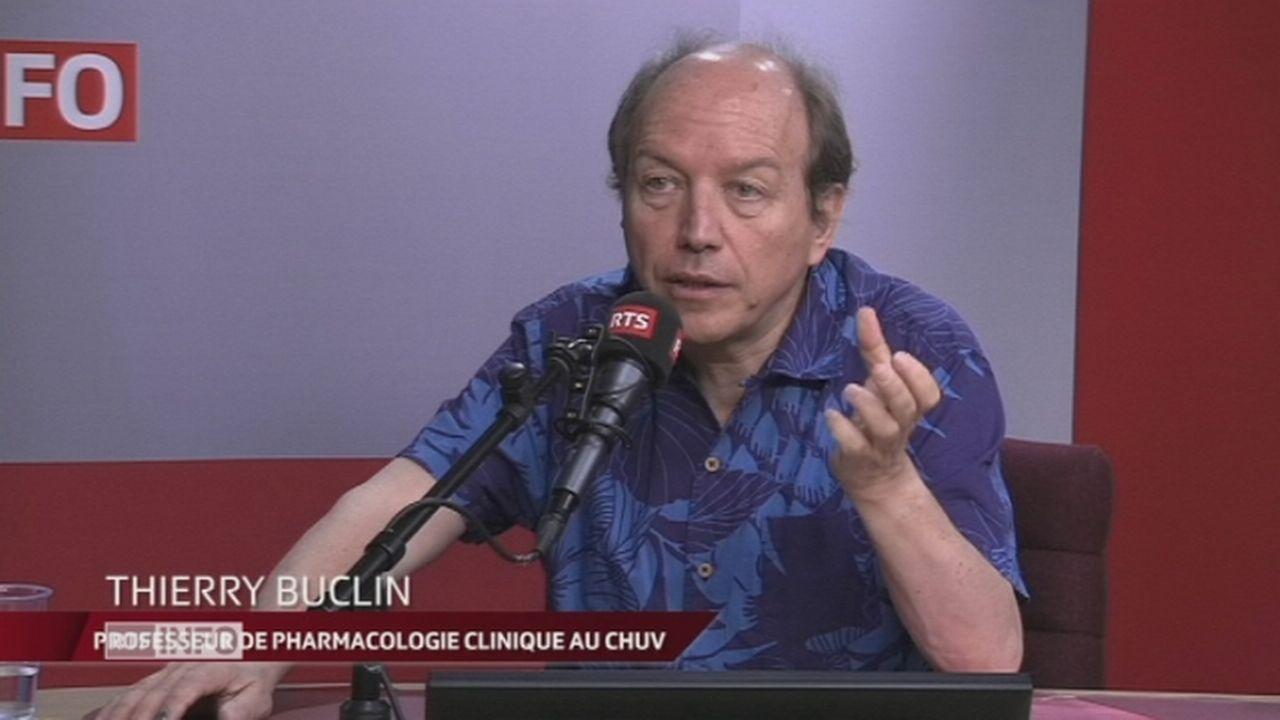 Thierry Buclin en interview dans le Journal du Matin [RTS]
