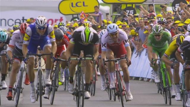 Tour de France, 7e étape: Troisième victoire pour Marcel Kittel (GER) [RTS]