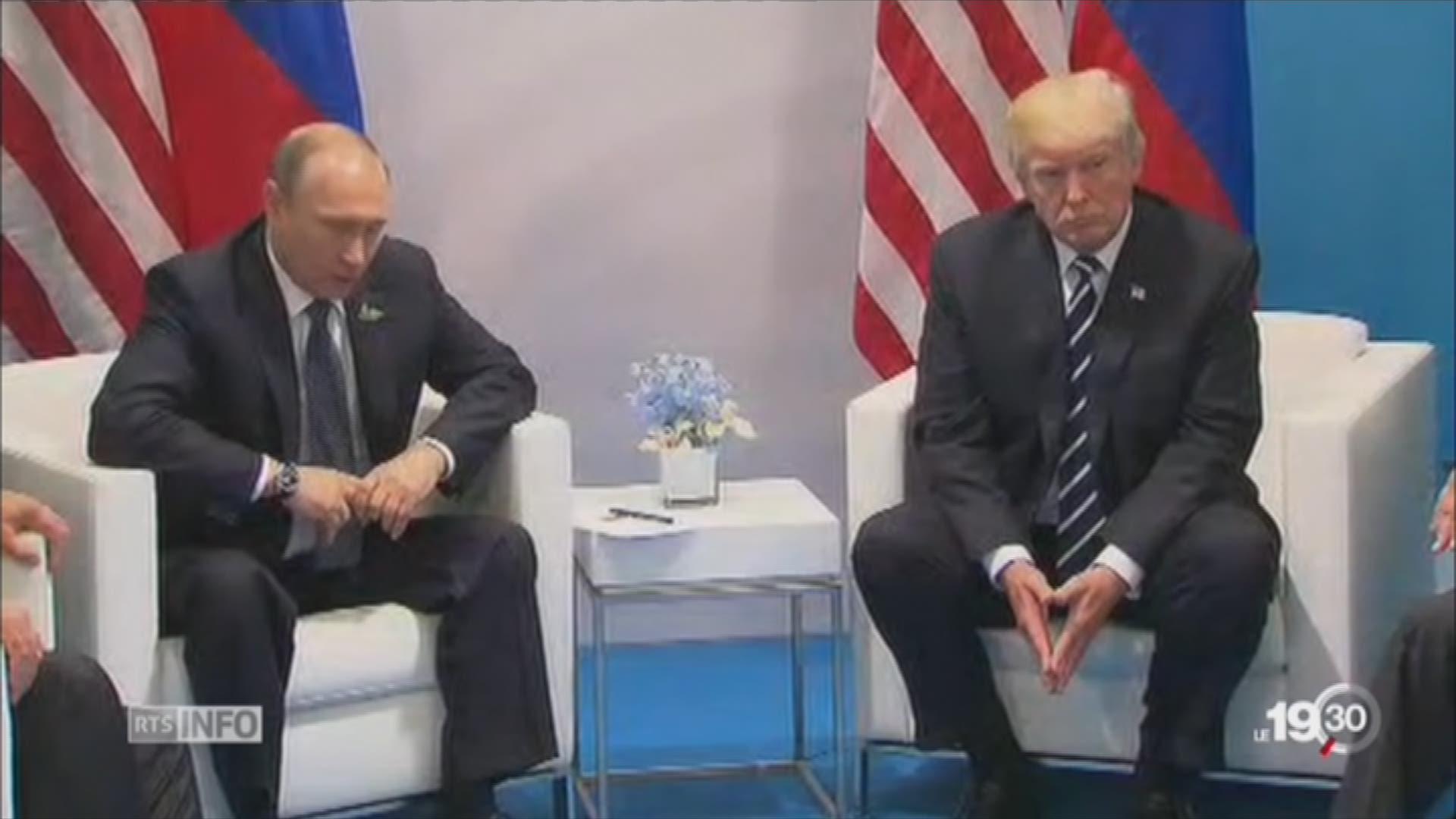 Trump désavoue son ministre de la justice — Affaire russe