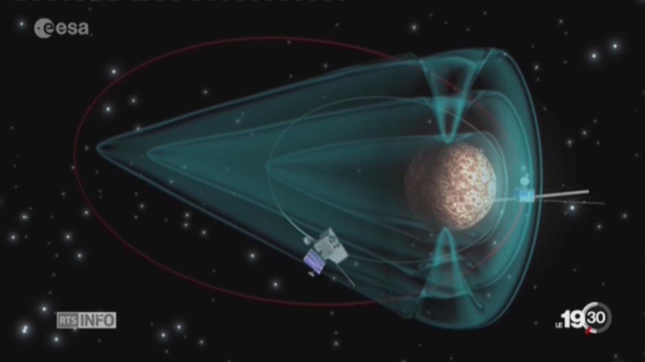 Mission spatiale: un nouvel engin va explorer la planète Mercure [RTS]