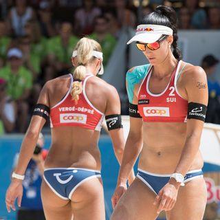 Beachvolley: pas de finale pour Heidrich/Vergé-Dépré à Gstaad
