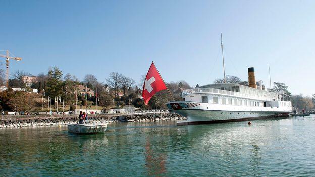Pro Natura dénonce le retour du bateau Helvétie sur le lac Léman