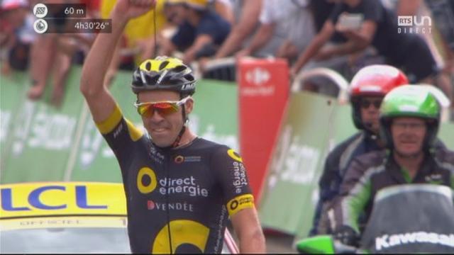 Tour de France, 8e étape: Calmejane (FRA) vainqueur en solitaire [RTS]