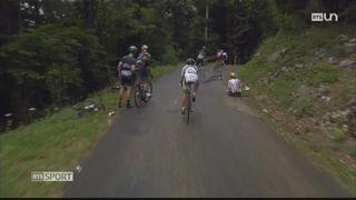 Cyclisme - Tour de France: la neuvième étape a eu lieu dans le Jura français [RTS]