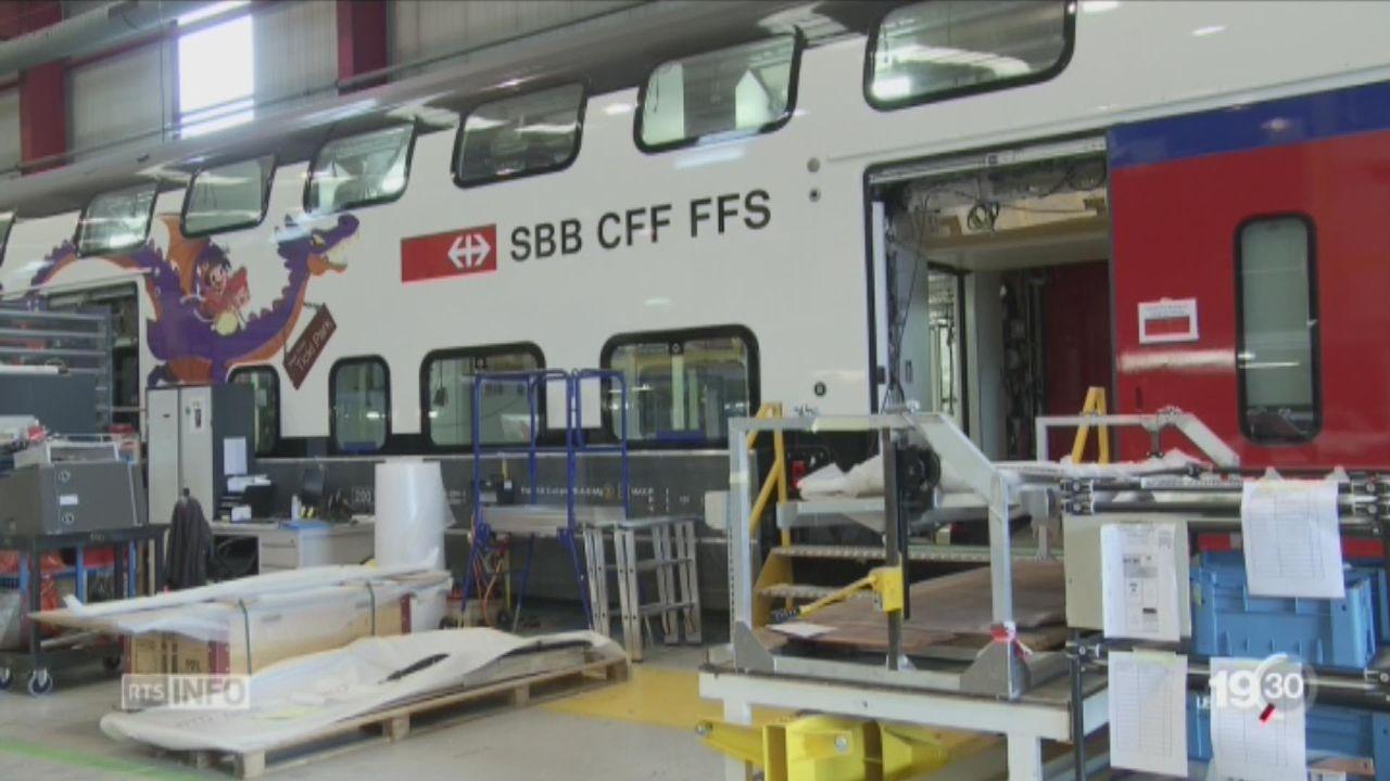 Bombardier fabriquera bien les trains CFF à Villeneuve [RTS]