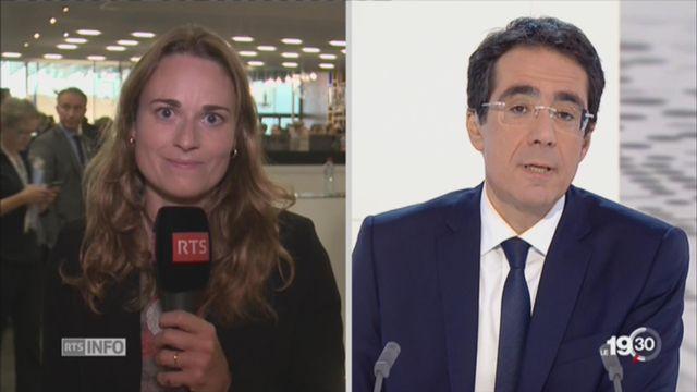 Villes candidates aux JO 2024: délégations arrivées à Lausanne [RTS]