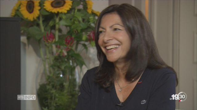 Candidature JO Paris 2024: Anne Hidalgo défend sa ville [RTS]
