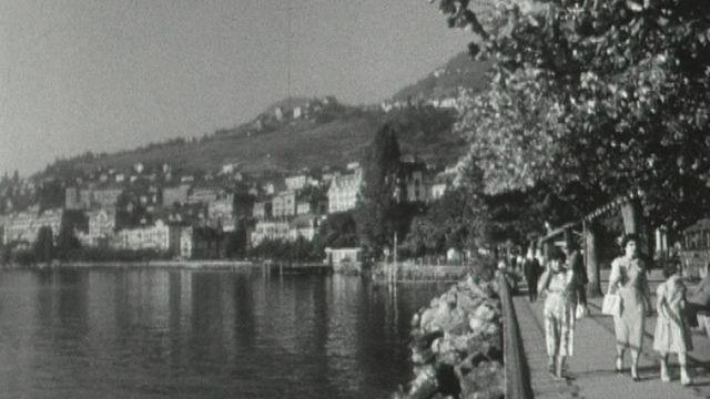 Visite de la région de Montreux [RTS]