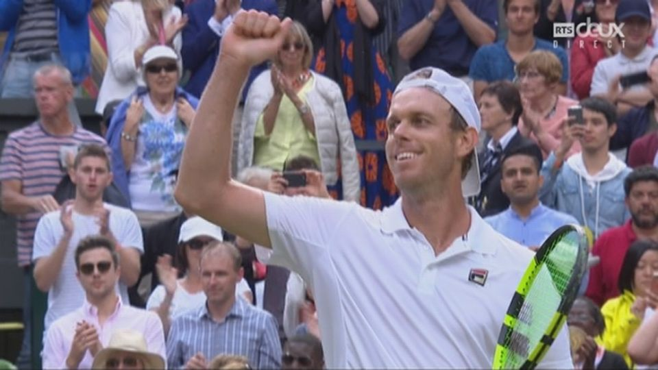 Wimbledon, 1-4: Murray (GBR) battu par Querrey (USA) 6-3 4-6 7-6 1-6 1-6 [RTS]