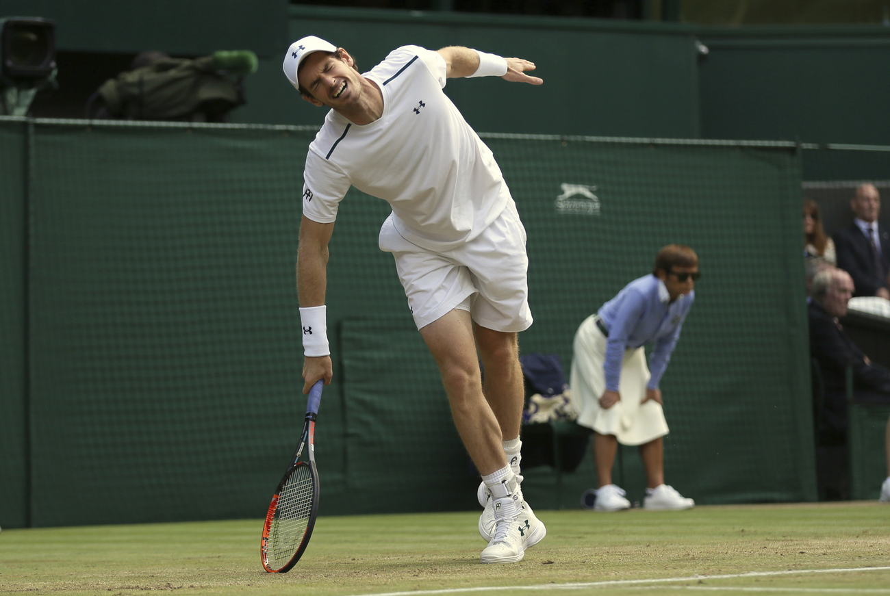 Wimbledon (J9) : Murray s'incline, Djokovic abandonne, Federer jubile