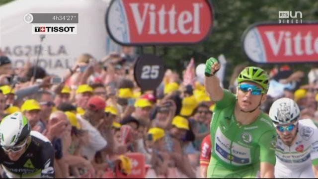 Tour de France, 11e étape: victoire d'étape pour Marcel Kittel (GER) devant Dylan Groenewegen (NED) et Edvald Boasson Hagen (NOR) [RTS]