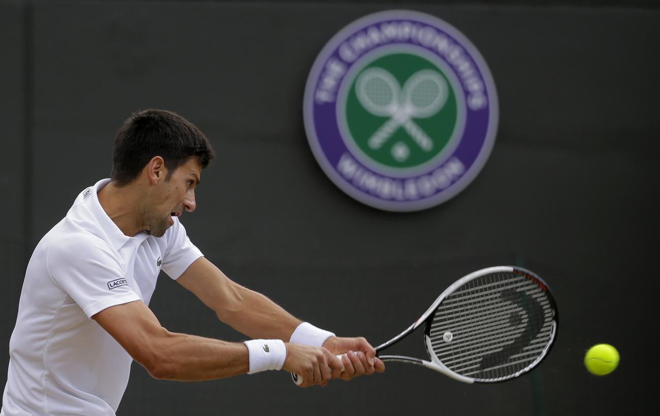 Blessé, Novak Djokovic abandonne — Wimbledon