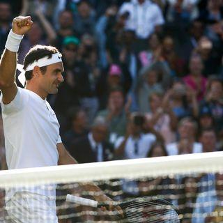 Wimbledon: sans pitié, Federer enrhume Raonic en quarts: 6-4 6-2 7-6 en 2 heures