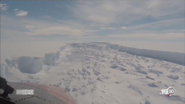 Un monstre de glace dérive au large de l'Antarctique [RTS]