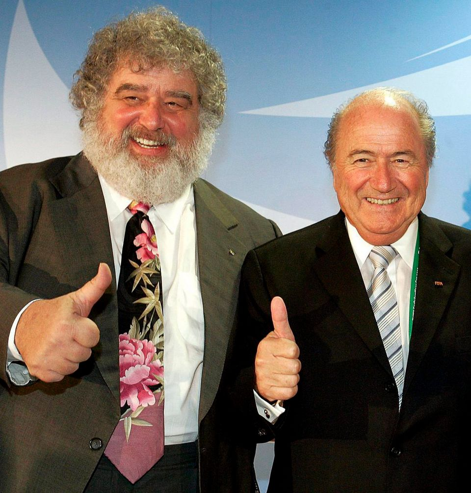 Blazer a en quelque sorte eu la tête de Sepp Blatter. [Frank May - Keystone]