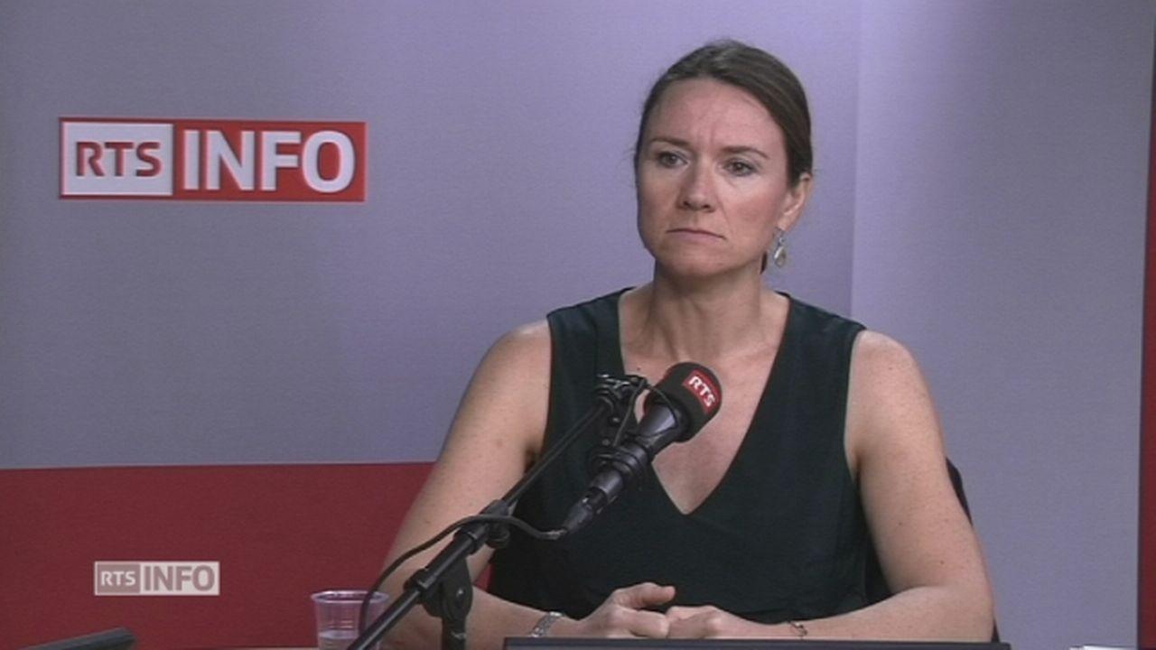 Sophie Michaud Gigon s'exprime à propos de VW [RTS]