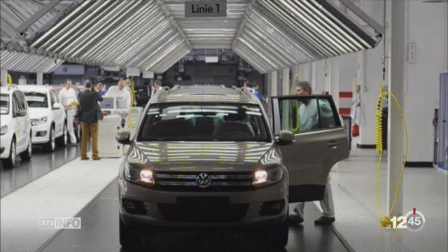 La Fédération romande des consommateurs participe à une action en justice contre VW. [RTS]