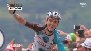 Tour de France, 12e étape: Romain Bardet (FRA) remporte l'étape devant Rigoberto Uran (COL) et Fabio Aru (ITA) [RTS]