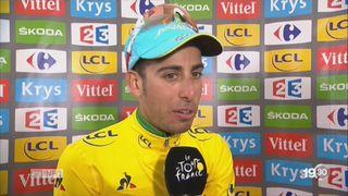 Tour de France: Christopher Froome perd le maillot jaune [RTS]
