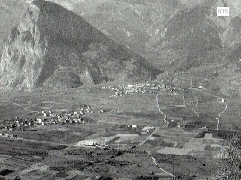 A Chamoson en Valais