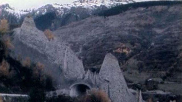 Les Pyramides d'Euseigne. [RTS]