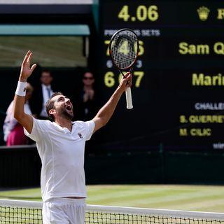 Wimbledon: Cilic s'offre une première finale à Church Road