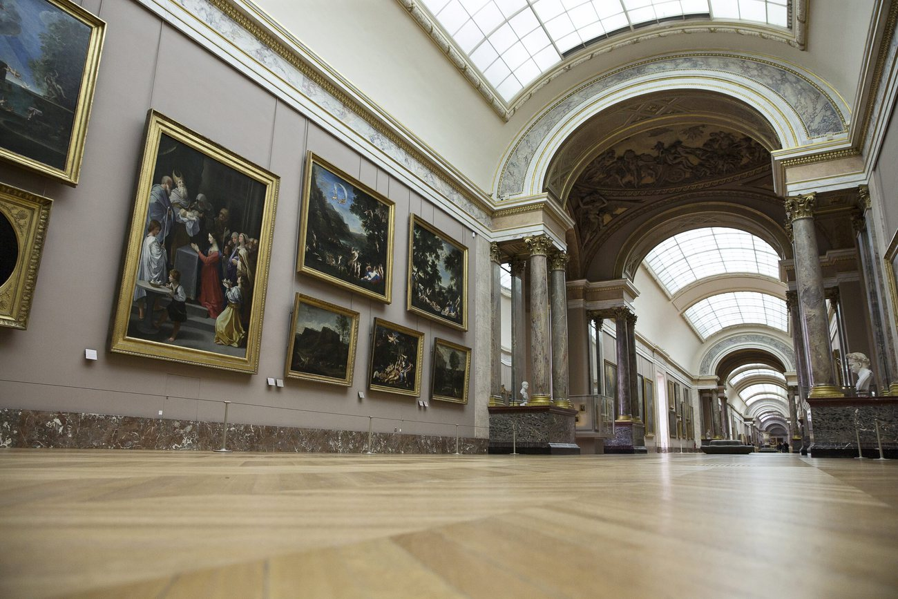 Des tableaux touchés au Louvre — Intempéries