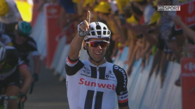 Tour de France, 14e étape: victoire d'étape pour Michael Matthews (AUS) devant Greg Van Avermaet (BEL) et Edvald Boasson Hagen (NOR) [RTS]