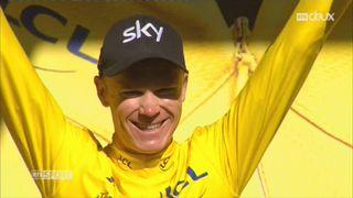 Cyclisme-Tour de France, 14e étape: Froome reprend le maillot jaune [RTS]