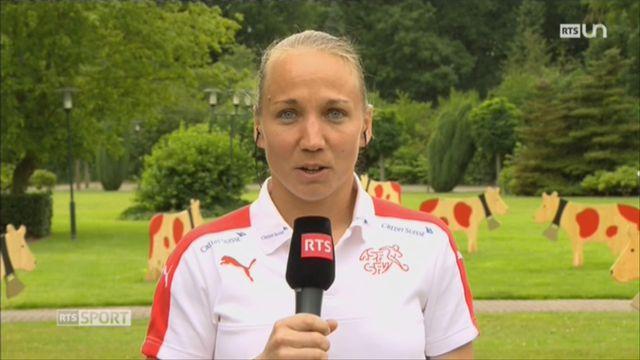 Football féminin - Euro: l'équipe Suisse sera présente [RTS]