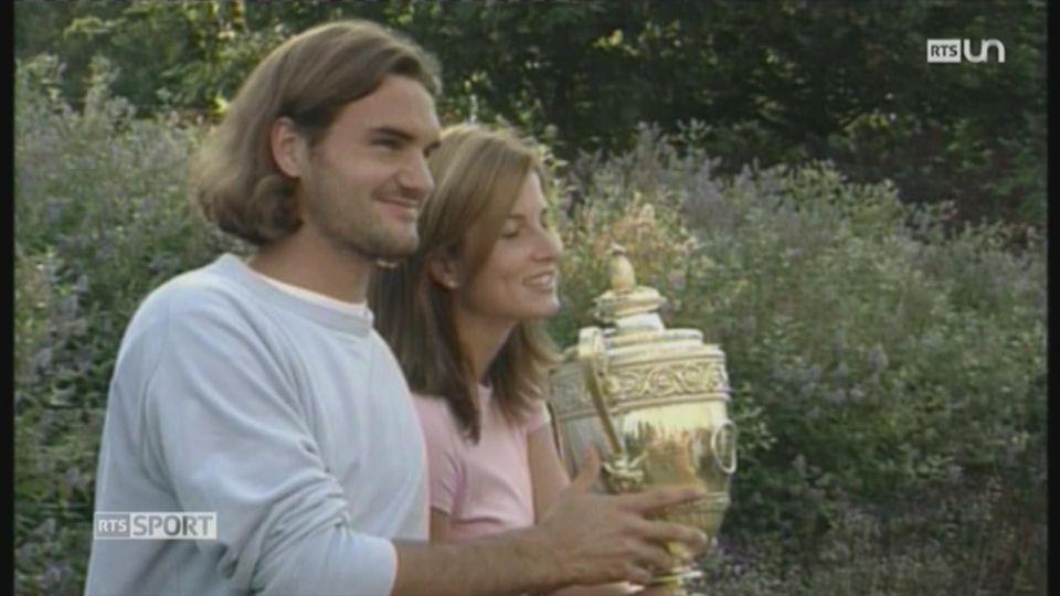 Tennis - Wimbledon: retour sur le parcours de Roger Federer dans ce tournoi [RTS]