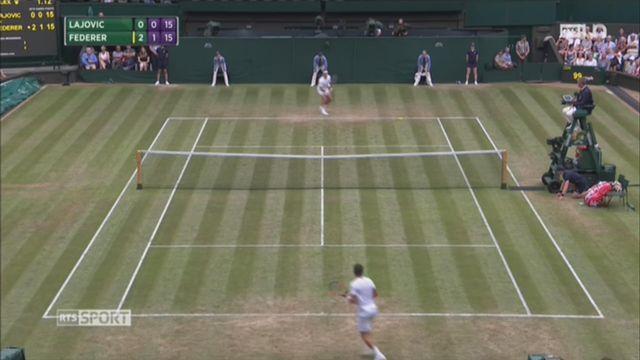 Tennis - Wimbledon: retour sur les matchs de Roger Federer dans ce tournoi 2017 [RTS]