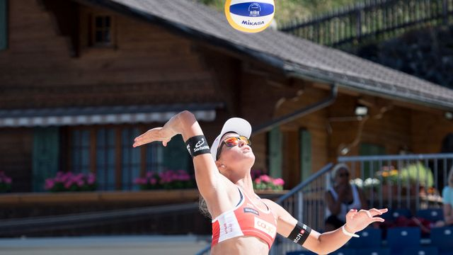 Beach volley. Championnats du monde finale dames. En direct de Vienne. [Anthony Anex - Keystone]