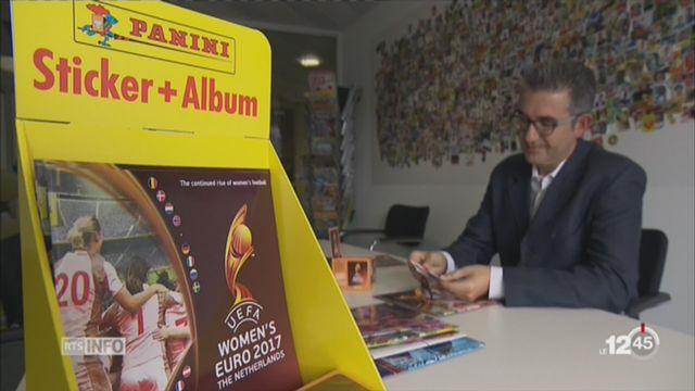 Football: les femmes ont leur 1er album Panini [RTS]