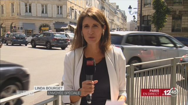 Rencontre entre Doris Leuthard et Macron [RTS]