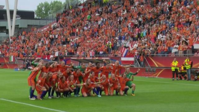 Football - Euro dames 2017 [RTS]