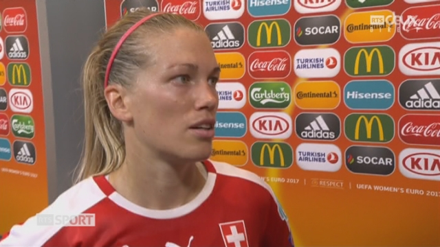 Groupe C, Autriche – Suisse 1-0, la réaction de Lara Dickenmann après la défaite suisse [RTS]