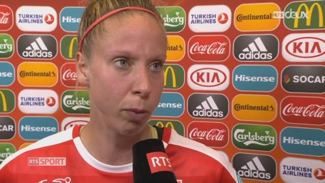 Groupe C, Autriche – Suisse 1-0, l'interview d'après-match de Caroline Abbé [RTS]