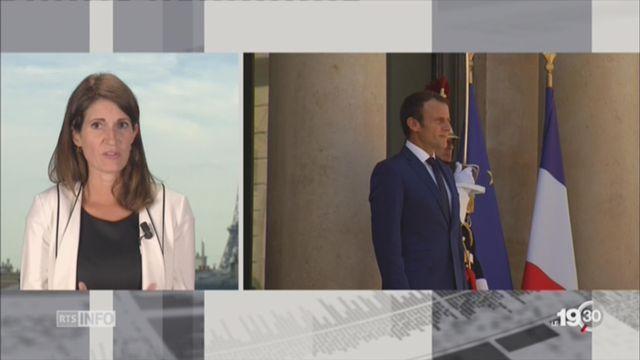 Rencontre Leuthard-Macron: le point avec Linda Bourget, depuis Paris [RTS]
