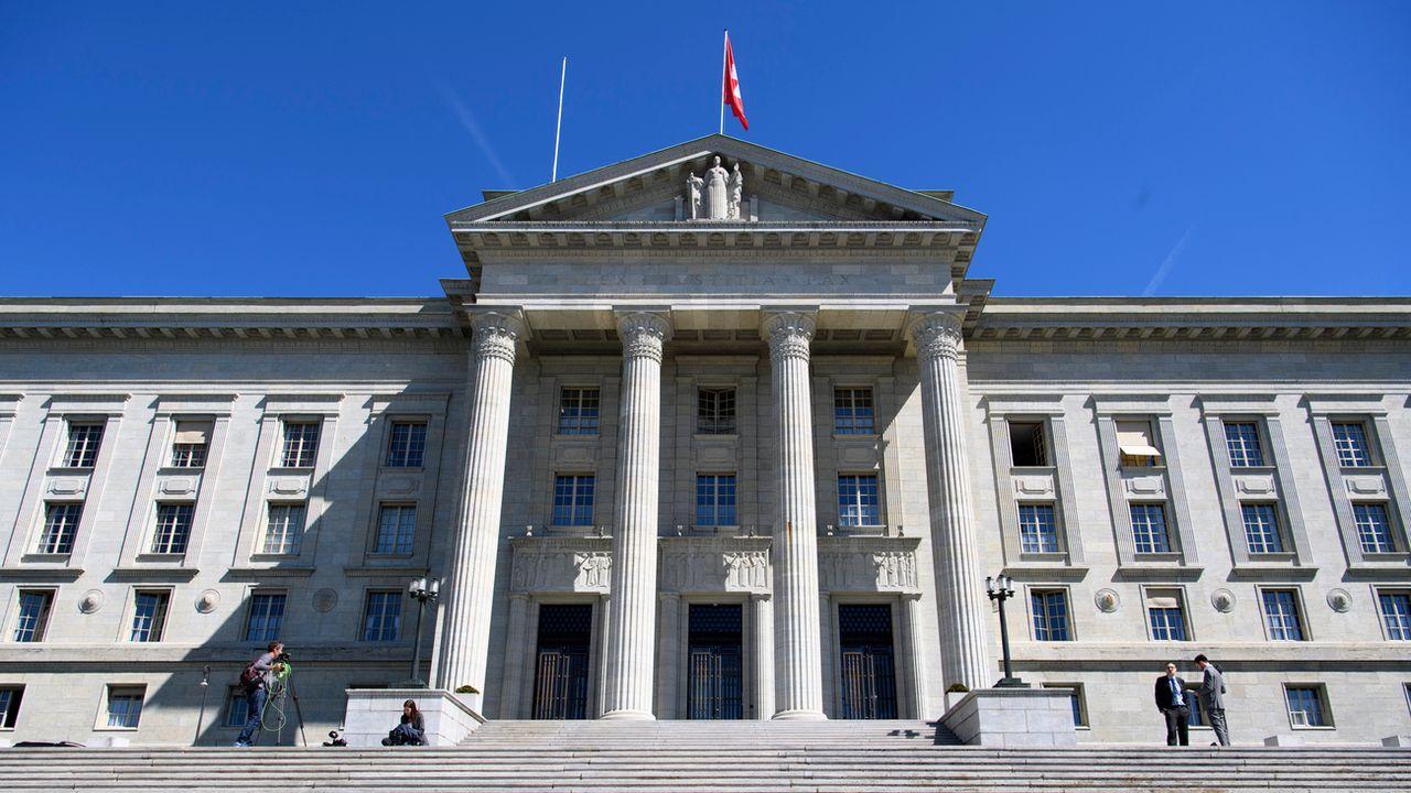 Le Tribunal Fédéral, à Lausanne. [Laurent Gillieron - Keystone]