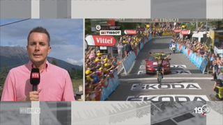 Cyclisme - Tour de France: les explications de Romain Roseng [RTS]