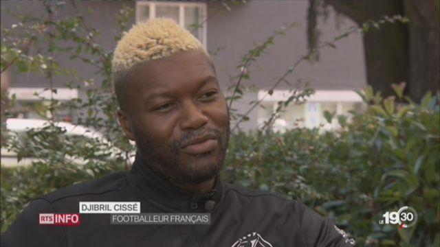 Djibril Cissé, une star à Yverdon Sport [RTS]