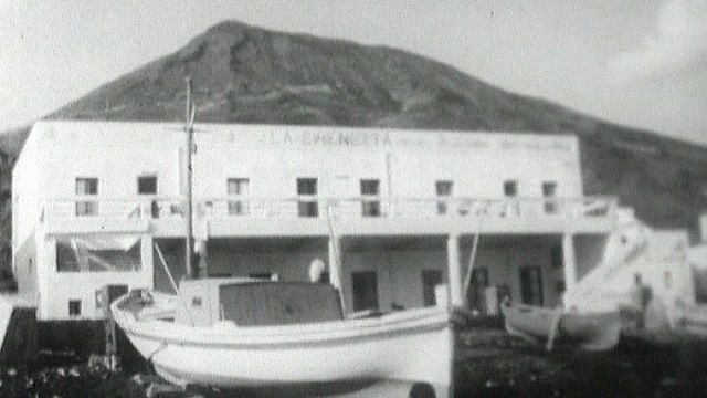 L'île volcanique du Stromboli en 1962. [RTS]