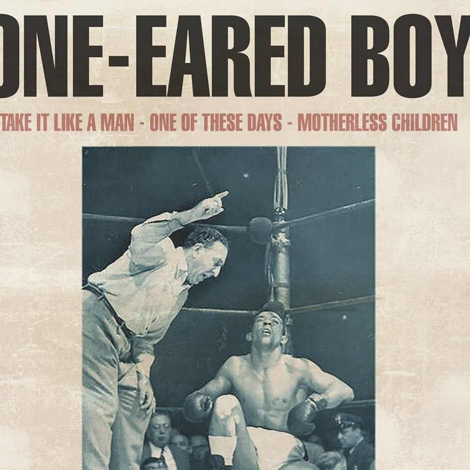 "La pochette du single ""Take it like a man"" de One-Eared Boy."