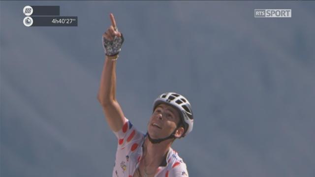 Tour de France, 18e étape: Warren Barguil (FRA) s'impose sur le Col d'Izoard [RTS]