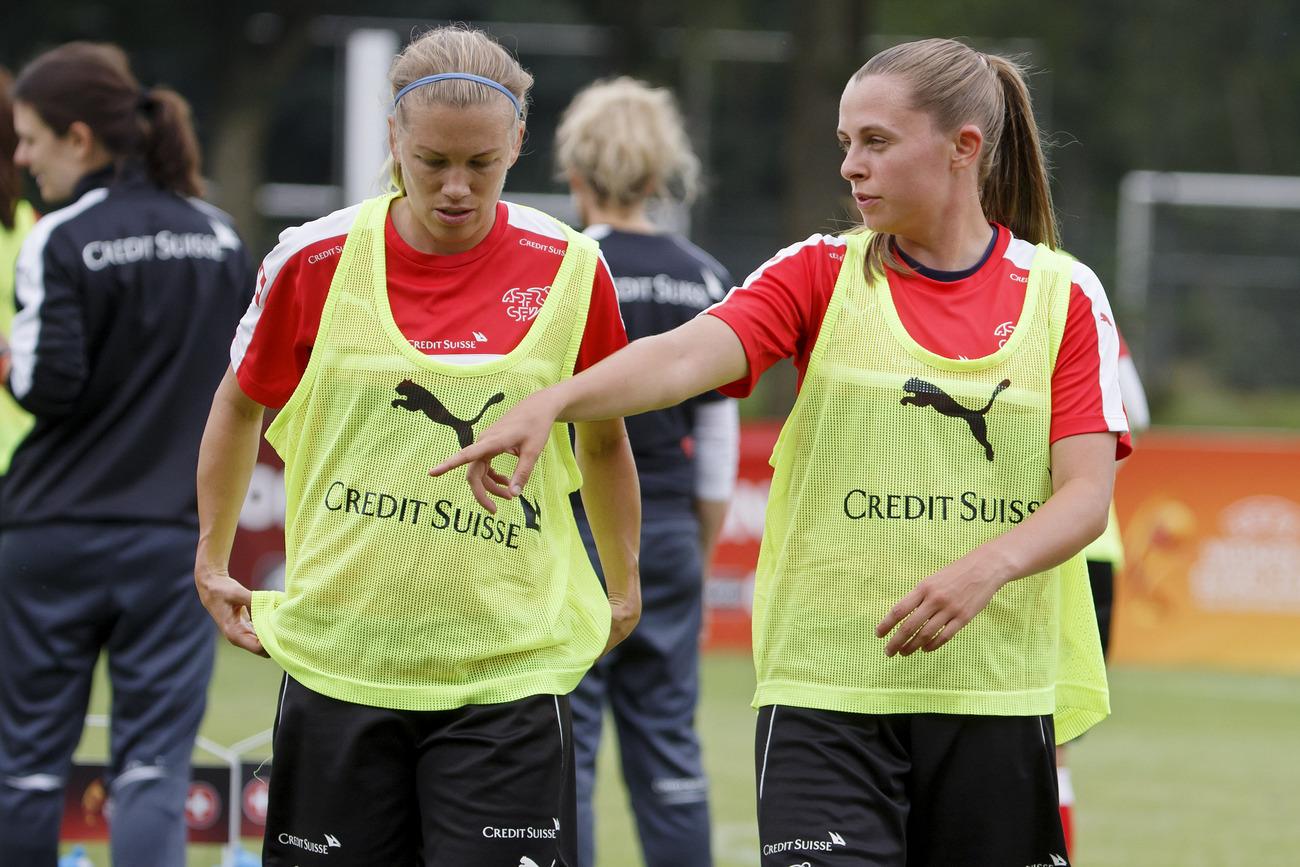 Euro féminin: les Suissesses battent l'Islande 2-1
